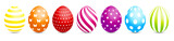 7 Easter Eggs Pattern