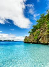 tropikalnych nad morzem