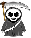cartoon grim reaper 01