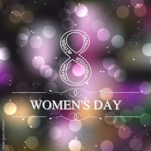 Beautiful background for Women's Day