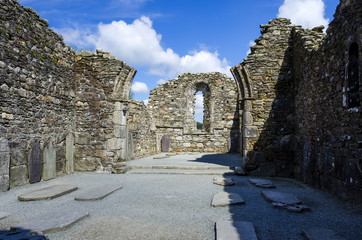 The Cathedral in Glendalough, Co Wicklow, Ireland