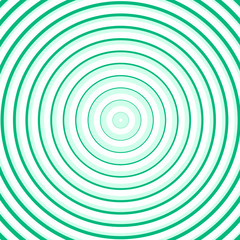 Green line circle background