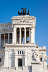Detail of the Altare della Patria