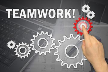 Anzeige - Teamwork