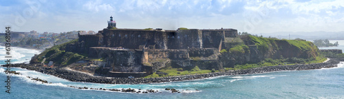 Papiers peints Fortification Panorama of El Morro