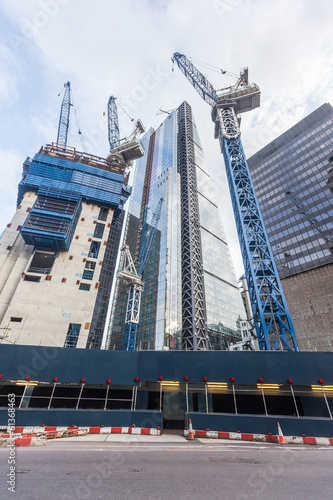 Construction Site in London City - 61368463
