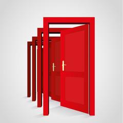 A door opens another door