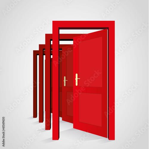 A door opens another door - 61369630