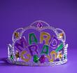 Mardi Gras crown decoration
