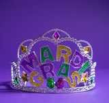 Mardi Gras crown decoration