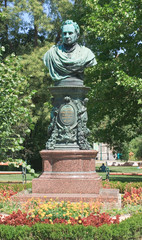 Andreas Tselinka monument - the mayor of Vienna, initiated the c