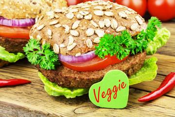 Veggieburger - Tofu