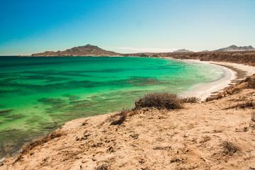 Beachs from baja california sur, mexico.