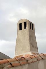 Chimenea típica, Calzadilla de Coria, España