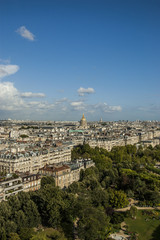 A view of Paris in France