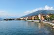 Gravedonna town at the famous Italian lake Como