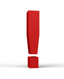 red exclamation mark