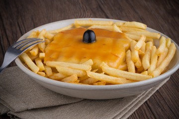 Francesinha on plate