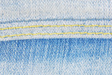 jeans denim fabric with seam texture