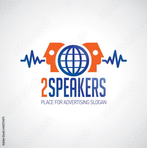 Logo 2 speakers