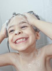 Che divertimento la doccia!
