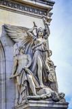 Palais Garnier is a historic opera house with lavish statuary - 61376032