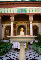 Riad fountain