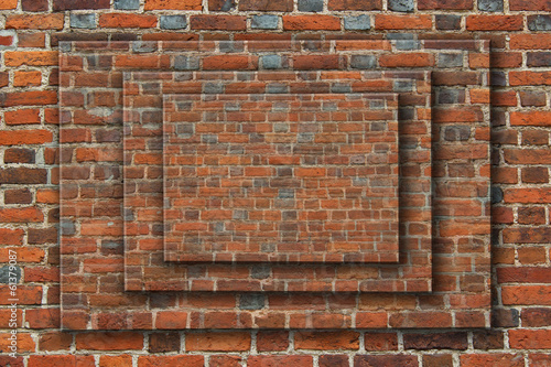 wall from the red brick