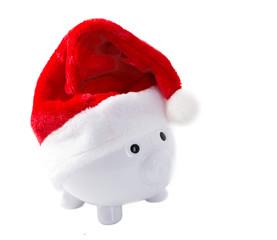 Piggy Bank destined for Christmas