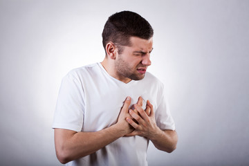 Strong heart attack