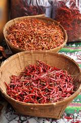 Red dry Chili peper
