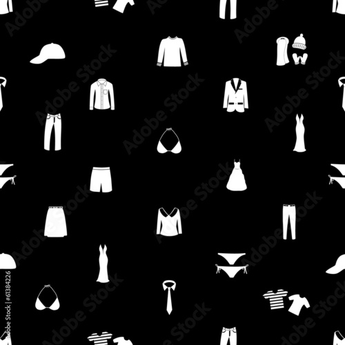 clothing seamless pattern eps10