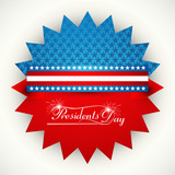 Vector Icon for President Day in United States of America design