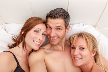 happy threesome