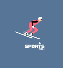 GIH0436 겨울 스포츠 플랫 알파인