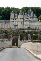 Castel of Rigny-Usse.    Loire Valley, France