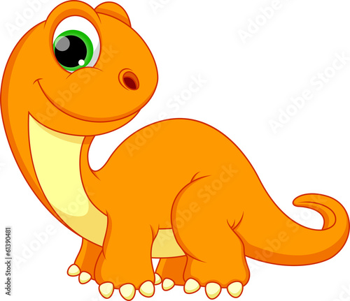 Illustration of dinosaur cartoon