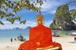bouddha sur plage de Phra Nang, Thaïlande