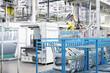 Leinwanddruck Bild - robotic arm and spare parts