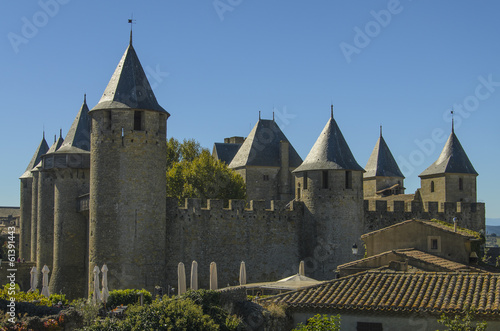 The Cité de Carcassonne