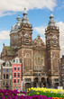 fasade of Church of St Nicholas,  Amsterdam