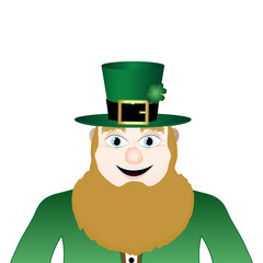Leprechaun symbol of St. Patrick's Day