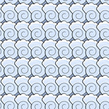 Seamless pattern with sea elements