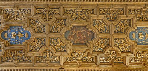 Rome - roof of basilica Santa Prassede