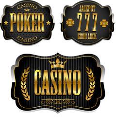 Casino labels