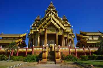 Bagan palace, Bagan, Mandalay, Myanmar