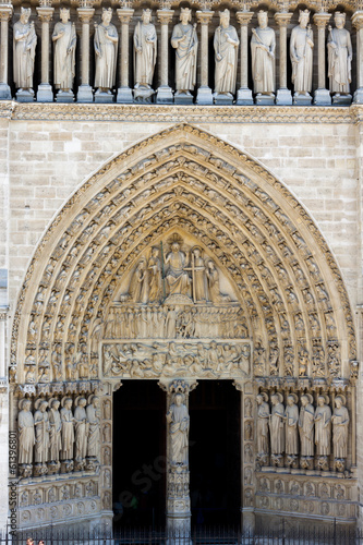 Cathedral Notre Dame - Paris.