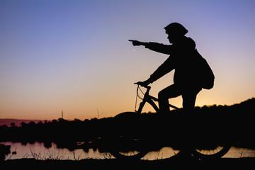 bisikletçi gezisi
