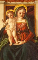 Verona - Paint Immaculate conception in Santa Anastasia