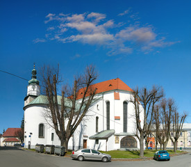 Church of Ascension of Virgin Mary, Bruntal, Czech Republic